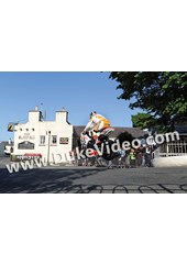 John McGuinness TT2012 Ballaugh Bridge Superstock