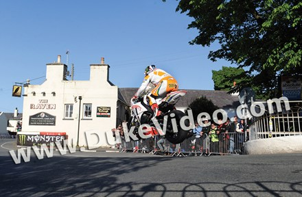 John McGuinness TT2012 Ballaugh Bridge Superstock - click to enlarge