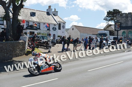 John McGuinness TT 2012 Mitre Kirk Michael - click to enlarge