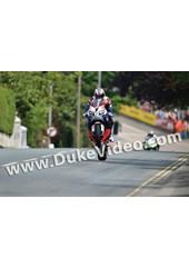 John McGuinness TT 2012 Ago's leap