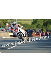 John McGuinness TT 2012 Shadows on road