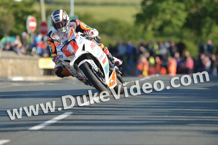 John McGuinness TT 2012 Shadows on road - click to enlarge