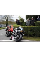 Ryan Farquhar between the Dunlop Brothers Cookstown 100 2012