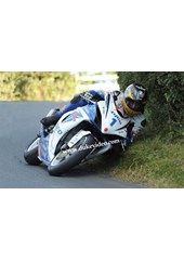 Guy Martin  on his way to victory Scarborough Gold Cup 2012