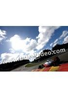 Lewis Hamilton into Eau Rouge 2012