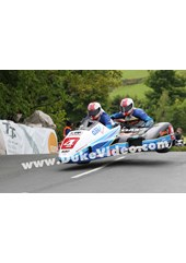 The Birchall Brothers at Ballaugh Bridge TT 2013.