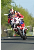 John McGuinness through Ballagarey TT 2013