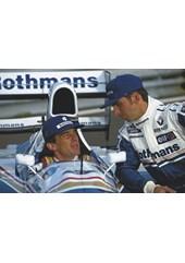 Ayrton Senna Damon Hill
