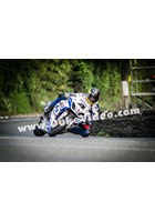 Guy Martin at Greeba Bridge, TT 2013