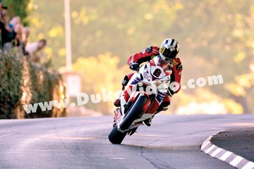 Churchtown wheelie, Michael Dunlop, TT 2013 - click to enlarge
