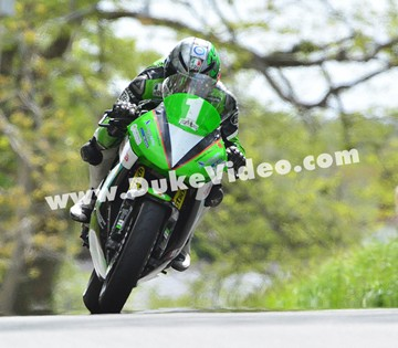 Lightweight TT winner James Hillier, TT 2013  - click to enlarge