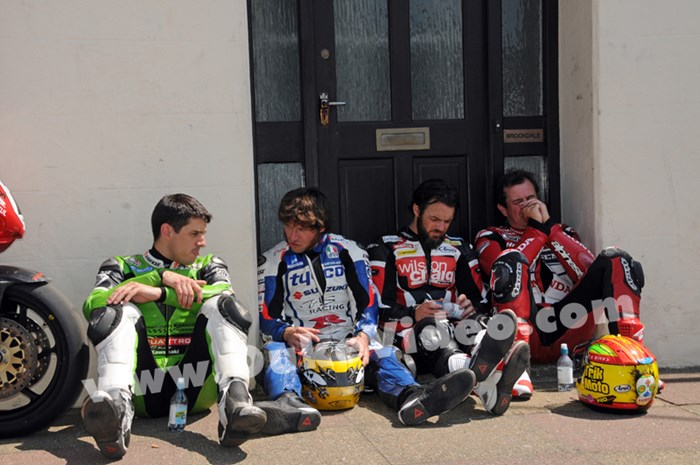 Hillier, Martin, Donald and McGuinness TT 2013 - click to enlarge