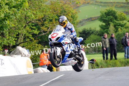 Guy Martin Ballaugh TT 2013