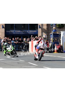 McGuinness leads Hillier through Ramsey TT 2013