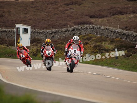 Dunlop, McGuinness and Donald, Keppel Gate TT 2013 - click to enlarge