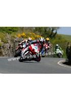 Michael Dunlop leads Supersport TT 2013