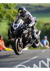 Bruce Anstey Ballaugh Bridge Supersbike Practice TT2009