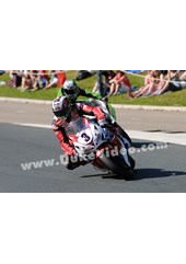 John McGuinness leads James Hillier TT 2013 Senior