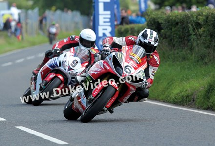 William Dunlop leads Michael Ulster GP 2013 - click to enlarge