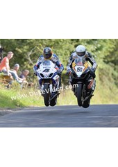 Guy Martin and William Davison Armoy 2013