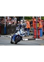 Dean Harrison at St. Ninian's, TT 2014