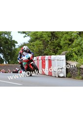 TT 2014 Michael Dunlop wheelies over bridge