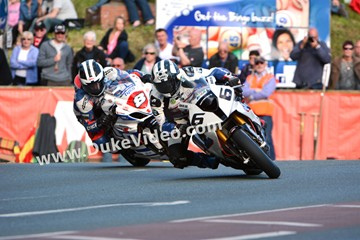 Dunlop Brothers at Quarterbridge, TT 2014 - click to enlarge