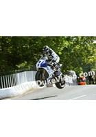 Gary Johnson jumps Ballaugh Bridge, TT 2014