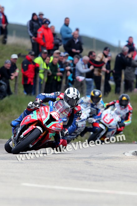 Michael Dunlop, Guy Martin and Bruce Anstey - Bungalow, TT 2014