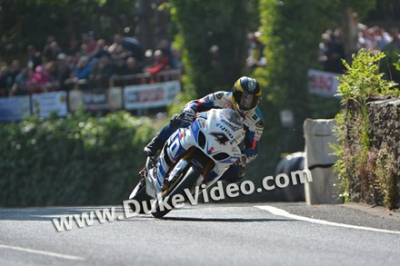 TT 2014 Guy Martin at Union Mills. - click to enlarge