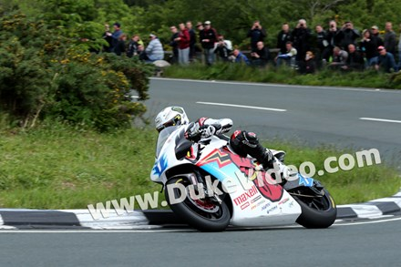 John McGuinness, TT Zero lap record holder - click to enlarge