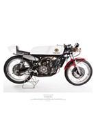 Yamaha RA31A 125cc 1968 Print