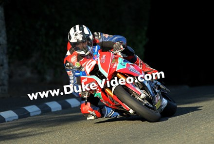 Michael Dunlop (Hawk/ MD Racing BMW), Isle of Man TT 2014 - click to enlarge
