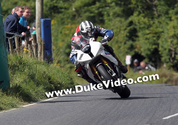 Michael Dunlop (Motorrad Hawk BMW) Ulster Grand Prix 2014 - click to enlarge