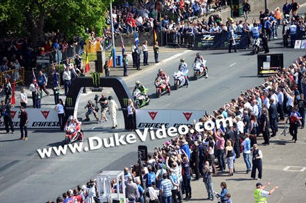 John McGuinness Superbike TT,  Isle of Man 2014