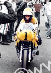 Kenny Roberts Silverstone 1980