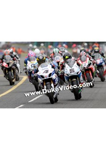 Guy Martin and Bruce Anstey Ulster Grand Prix 2014.