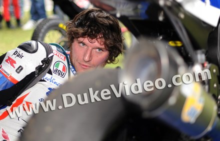 Guy Martin Exhaust Scarborough 2012 Print - click to enlarge