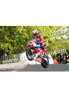 Conor Cummins Ballaugh Bridge TT 2015 Print