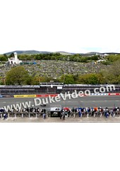 Bruce Anstey crosses the line Superbike Race TT 2015