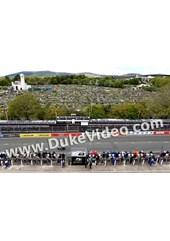 Bruce Anstey crosses the line Superbike Race TT 2015
