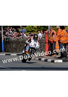Bruce Anstey Top of Bray Hill TT 2015
