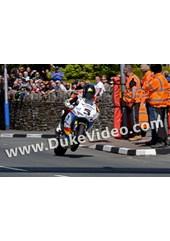 Bruce Anstey Top of Bray Hill TT 2015