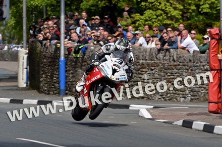 Michael Dunlop TT 2015 St Ninians Print - click to enlarge