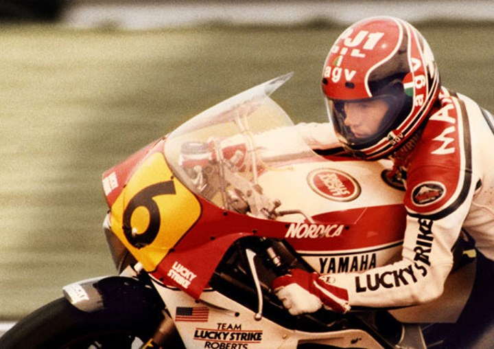 Randy Mamola Silverstone 1986 - click to enlarge