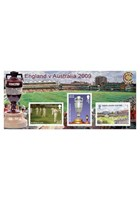 Cricket - The Ashes Stamps Miniature Sheet CTO