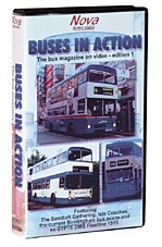 Buses in Action VHS