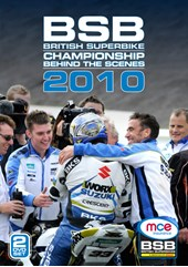British Superbike Behind the Scenes 2010 ( 2 Disc) DVD