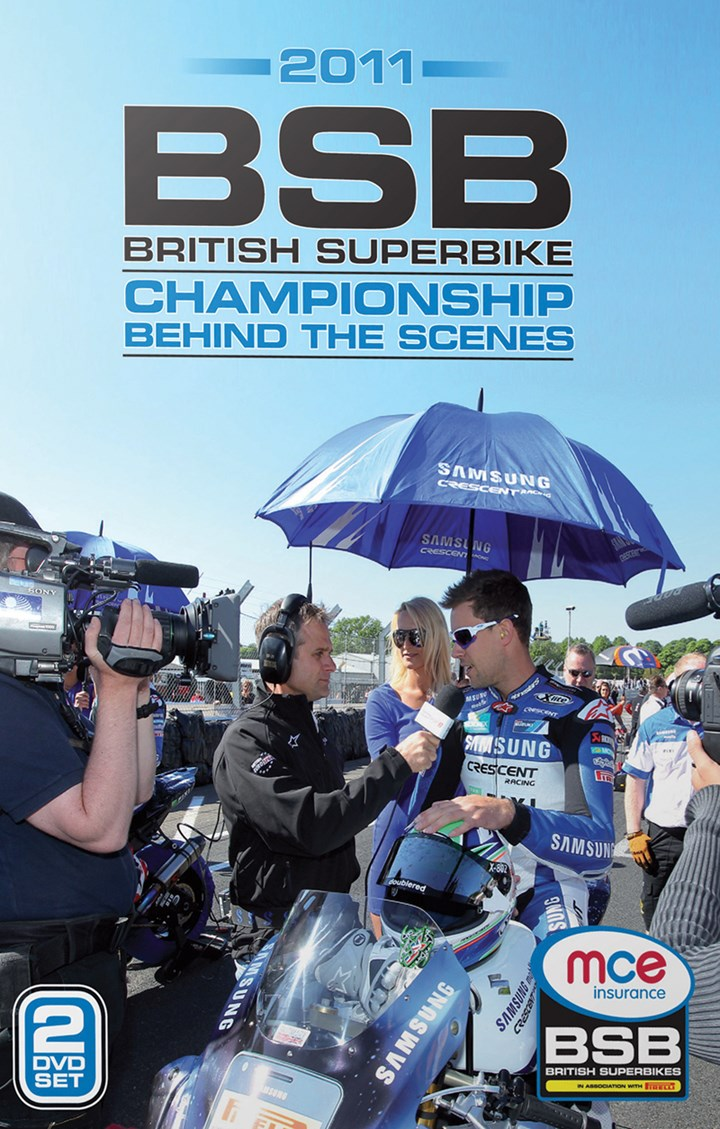 British Superbike Behind the Scenes 2011 (2 Disc) DVD