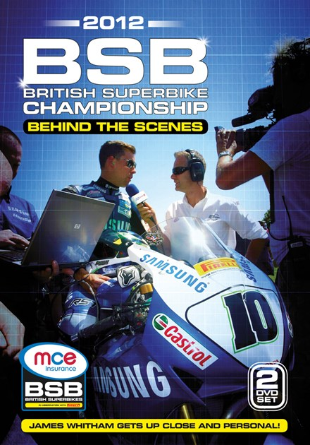 British Superbiker Behind the Scenes 2012 (2 Disc) DVD